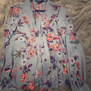 Express Floral Blouse